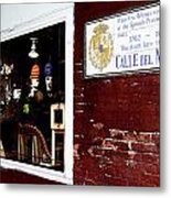 The Window On Calle Del Maine Metal Print