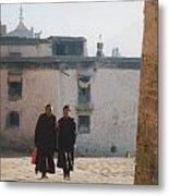 Tibet Monks 6 Metal Print