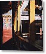 Tibet Potala Palace 7 Metal Print