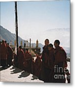 Tibetan Monks 2 Metal Print