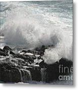 Tidal Spray Metal Print