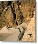 Tide Sculpture Metal Print