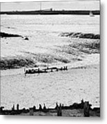 Tides On The Wane. Metal Print by Terence Davis