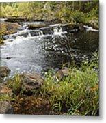 Tidga Creek Falls 2 Metal Print