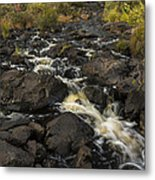 Tidga Creek Falls 3 Metal Print