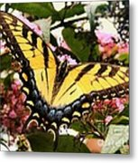 Tiger Tail Metal Print