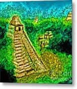 Tikal By Jrr Metal Print