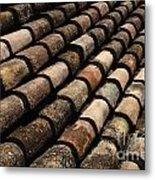 Tile In Dubrovnik Croatia Metal Print