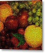 Tiled Fruit  Metal Print by Mauro Celotti