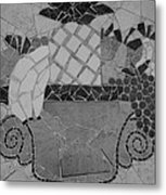 Tiled Fruit Metal Print