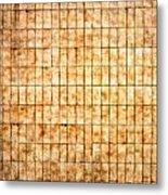Tiled Wall Metal Print