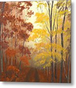 Timber Road Metal Print by Garry McMichael