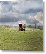 Time Alone Metal Print by Betsy Knapp
