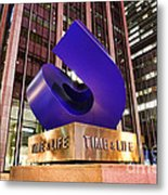 Time And Life Curved Cube Metal Print