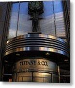 Time At Tiffany's Metal Print