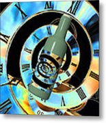 Time In A Bottle Metal Print