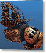 Time Machine A Long Journey Home Metal Print