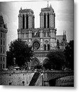 Timeless Notre Dame Metal Print