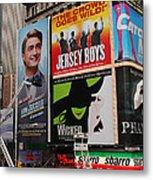 Times Square 7 Metal Print