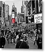 Times Square New York Toc Metal Print