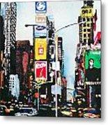 Times Square Nyc Metal Print