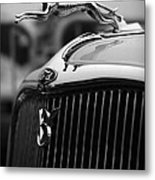 Timmis-ford V8 Greyhound Hood Ornament Metal Print