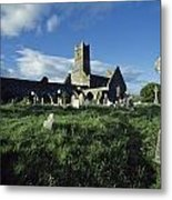 Timoleague Abbey, Co Cork, Ireland 13th Metal Print