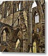 Tintern Abbey 10 Metal Print