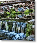 Tiny Waterfalls Metal Print