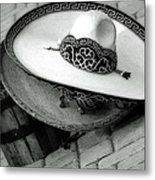 Tip Your Hat Metal Print