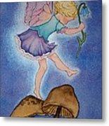 Tiptoe Fairy Metal Print