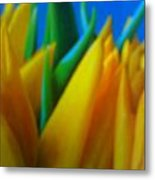 Tiptoe Thru Tulips Metal Print