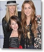 Tish Cyrus, Noah Cyrus, Miley Cyrus Metal Print