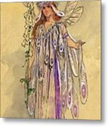 Titania Queen Of The Fairies A Midsummer Night's Dream Metal Print by C Wilhelm