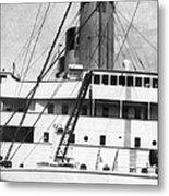 Titanic: The Bridge, 1912 Metal Print