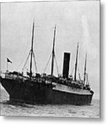 Titanic: The Carpathia, C1912 Metal Print
