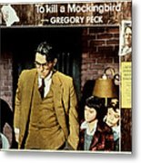 To Kill A Mockingbird, Gregory Peck Metal Print