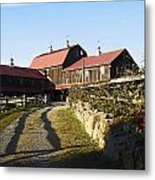 To The Barn Metal Print