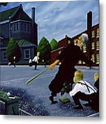 To The Glory Of God Metal Print by Stephane Poulin