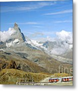To The Summit Metal Print