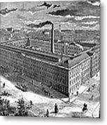 Tobacco Factory, 1876 Metal Print by Granger