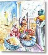 Together Old In Morocco 01 Metal Print