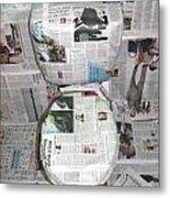 Toilet Paper 2 Metal Print