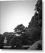Tokyo Imperial Palace Metal Print by Naxart Studio