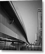 Tokyo Overpass Metal Print