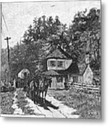 Toll Gate, 1879 Metal Print