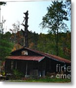 Toll Gate House Metal Print