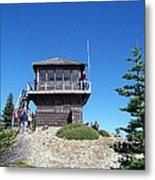 Tolmie Peak Lookout Metal Print