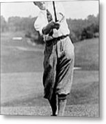 Tom Armour Wins Us Golf Title - C 1927 Metal Print