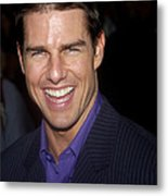 Tom Cruise At The Premiere Metal Print